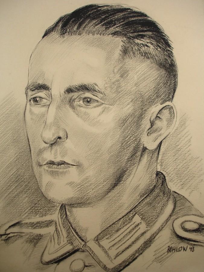 Прическа солдат 3 рейха